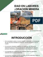 Seguridad en Exploraciones Mineras Isem 2015