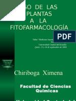 Ximena Chiriboga Uso de Las Plantas