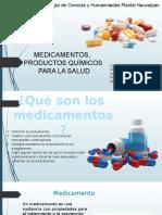Tercera Unidad, Medicamentos, Productos Químicos Para La Salud