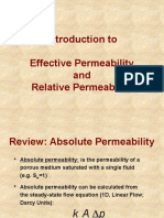 Simple Presentation on Relative Permeability
