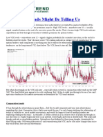 What VIX trends might be telling us | ValueTrend