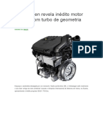 Volkswagen Revela Inédito Motor 1
