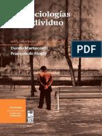 Martuccelli, Danilo - Las sociologías del individuo.pdf