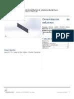 Mecánica de Materiales Concentración de Esfuerzos