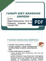 Terapi Diet Kandung Empedu