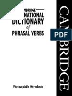 Cambridge International Dictionary of Phrasal Verbs - Pvwksheets