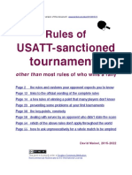 Rules of USATT-Sanctioned Tournaments