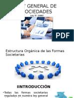 Ley General de Sociedades - Estructura Organica