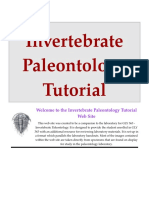 Invertebrate Paleontology Tutorial.doc