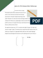 technical description of a stethoscope  final draft