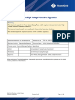 Safe Work Practices on High Voltage Substation Apparatus