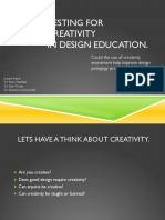 Creativity Primer
