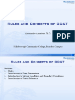 Rules and Concepts of GD&T