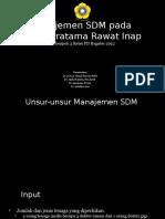 SL 1 - Manajemen SDM