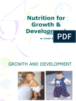 Nutrition for Growth and Development