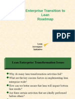 Transition to Lean