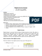 Digital System Design lectures