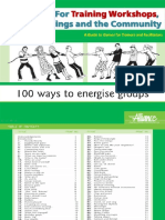 100 Training Games and Energizers