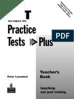 Ket Practice Tests Plus Teacher s Book