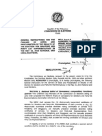 Comelec Resolution No. 8891