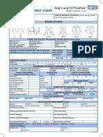 Wound Assessment Chart