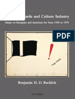 Benjamin HD Buchloh - Neo-Avantgarde & Culture Industry from 1955 to 1975 (October Books)