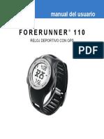 Garmin Forerunner 110_ES