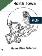 Northern Iowa 3-4 Defense
