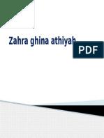 Zahra Ghina Athiyah