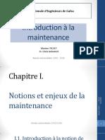 Introduction à la maintenance