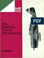 No. 07The Republic P-47D Thunderbolt