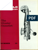 No. 10 the Gloster Gauntlet