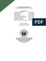 MAKALAH Ekonomi Manajerial Bab 6 Teori Produksi Dan Estimasi
