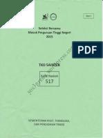 TKD Saintek 2015