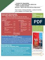 Newsletter - JCS - 2015-16 V1