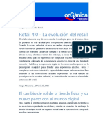 Retail 4.0 La Evolucion Del Retail