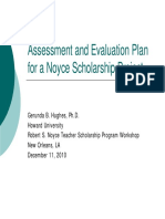 Scholarship Assessment
