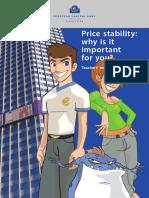 ECB Price Stability Booklet
