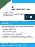 Wireless module - Microwave Propagation