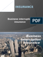 Bussiness Interruption Insurance