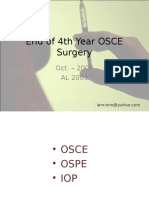 OSCE Surgery latest