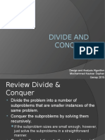 03 Divide and Conquer
