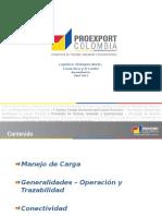 4. Manejo de La Carga y Conectividad Centroamerica y El Caribe