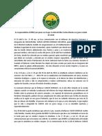 Se Responsabiliza Al INPEC Por Poner en Riesgo La Vida Del Líder Carlos Morales en Grave Estado de Salud