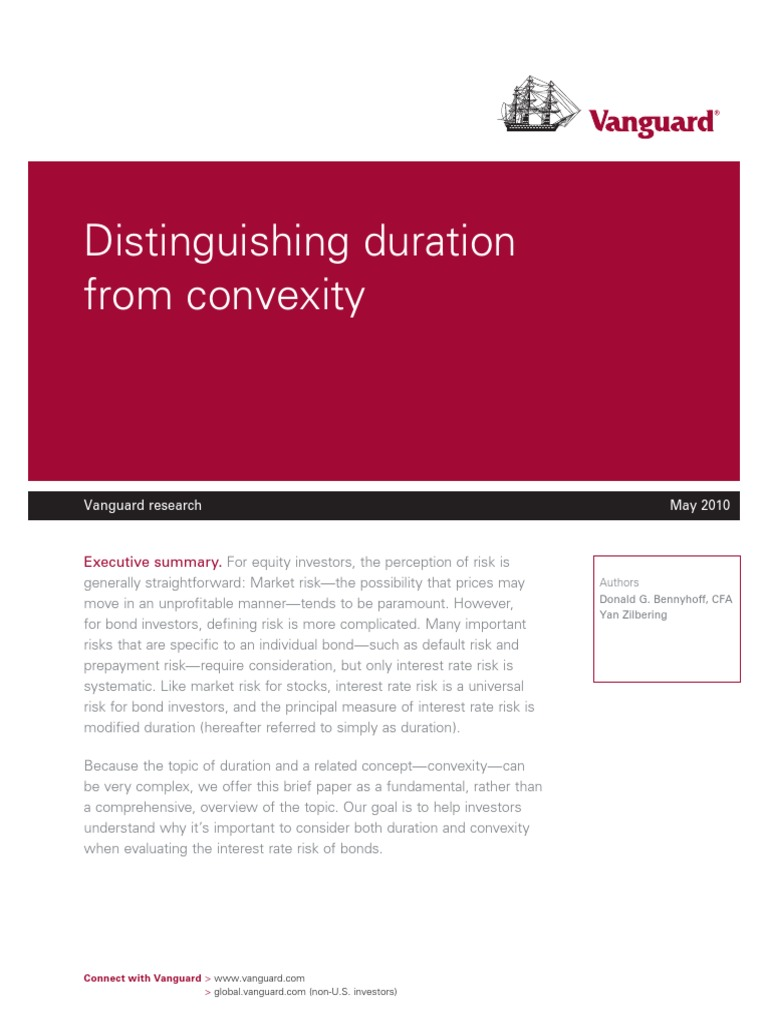 VANGUARD (2010) Distinguishing Duration From Convexity(1)-2 | Bond ...