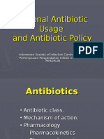 Rational Antibiotic Usage and Antibiotic Policy_dr. Firmansyah