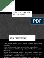 7 Pancasila Sebagai Sistem Etika