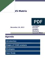 TOWS Matrix - V3.0.ppt