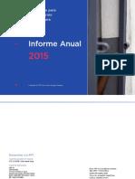 Annual Report 2015 Es