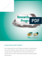 Reward Booklet (Gold and Green )